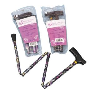 Spring Garden Collection Folding Cane