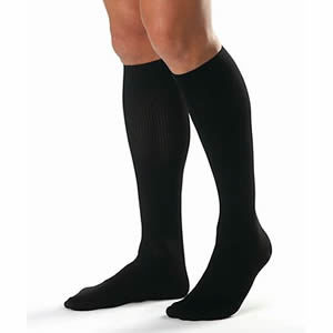 Knee High Ribbed Dress Socks